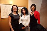 Slavnostní zahájení výstav, 16.4.2010 - Egon Schiele (1890-1918) - výstava k poctě životu a dílu - oslavy 120. výročí narození, foto: Přemysl Fejfar