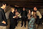 Slavnostní zahájení výstav 5.11.2010  - Eva Kmentová (1928–1980), Helga Philipp (1939–2002), odhalení Krumlovské madony 2010 a prezentace grafického souboru č. 164 z r. 1917 Egona Schieleho, foto: Lubor Sváček