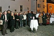 Slavnostní vernisáž, 1.11.2007