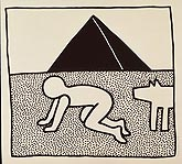 Keith Haring (1958-1990, New York), © Estate of Keith Haring