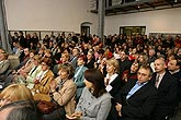 The grand opening of the exhibitions Alberto Giacometti, Ernst Scheidegger and Eva Prokopcová, 28.4.2006, photo: Libor Sváček