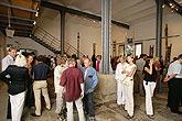 Geoffrey Hendricks: installation, opening of the exhibition 14th July 2006, foto: Libor Sváček