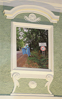 …madona Veroniky Bromové na jeden rok zůstává…, slavnostní odhalení Krumlovské madony Veroniky Bromové, 27.10.2006, foto: Libor Sváček