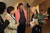 Vernisáž výstav Hermann Stenner, Jindřich Prucha a Zdeněk Rykr, 31.10.2008, foto: Libor Sváček