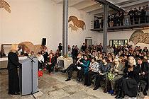 Slavnostní zahájení výstav, 21.4.2011 - Vrcholy módy: Historie na podpatku, Umění v každodennosti, foto: Libor Sváček