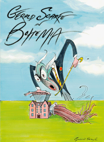 Gerald Scarfe - HUMOUR IN ART, 6.4. - 28.10.2012