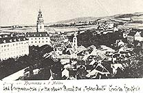 Český Krumlov v době Egona Schieleho