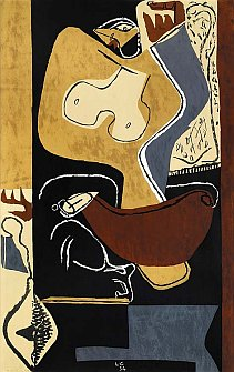 Le Corbusier: Žena se zdviženou rukou / Woman with raised arm, 1954, © F.L.C./Adagp, Paris 2004