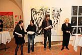 Slavnostní zahájení výstavy výsledků Symposia13, 18.10.2013, foto: Libor Sváček