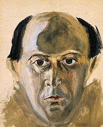 Arnold Schoenberg: Selbstportrait, © VBK, Wien 2004